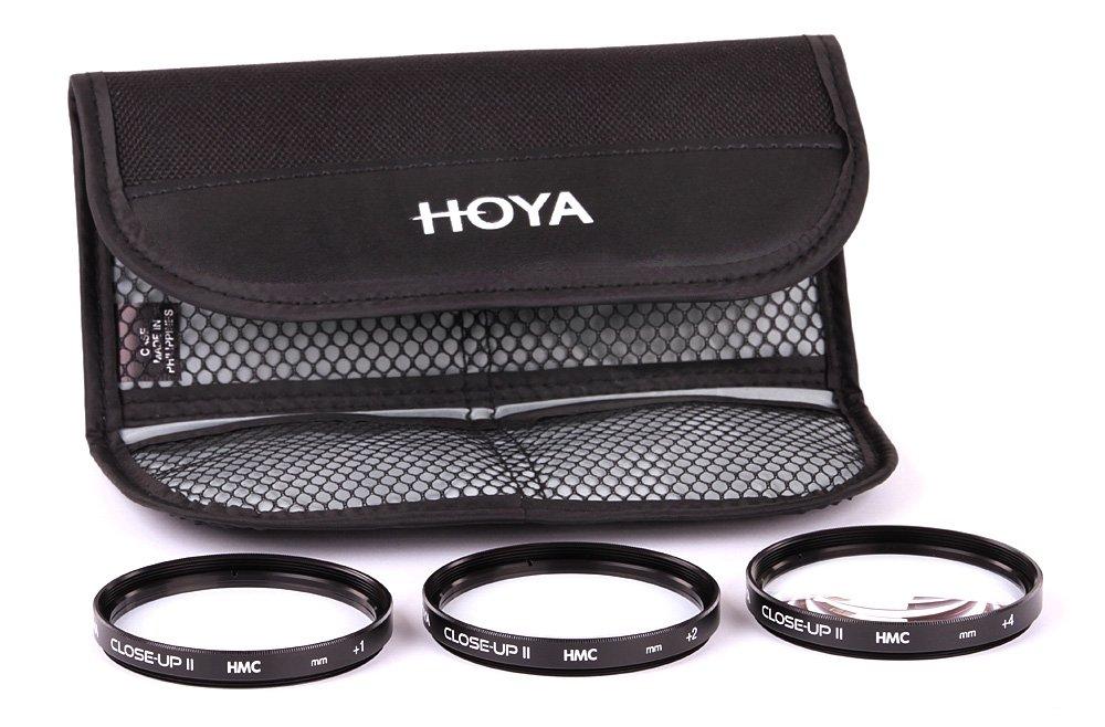 Hoya Close-up Kit - Juego de filtros para macro fotografí a (+1, +2, +4, 67 mm) color negro 1291
