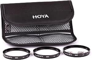 Hoya Close-up Kit - Juego de filtros para macro fotografía (+1, +2, +4, 58 mm) color negro: Amazon.es: Electrónica