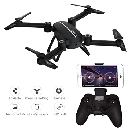 RC Drone With CameraKingtoys Skyhunter WiFi 720P HD Camera 24GHz
