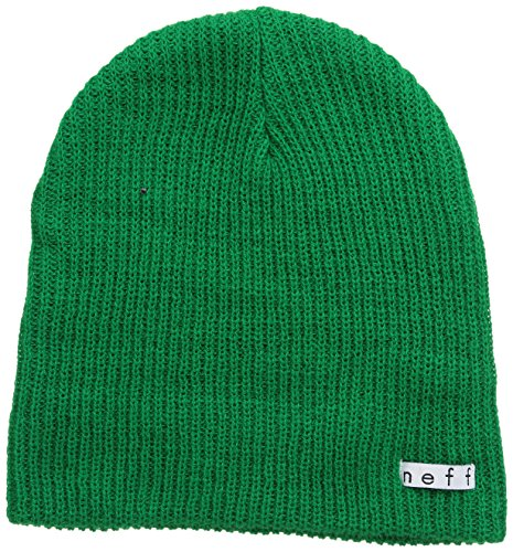 Neff Unisex Daily Beanie, Warm, Slouchy, Soft Headwear, Green, One Size]()