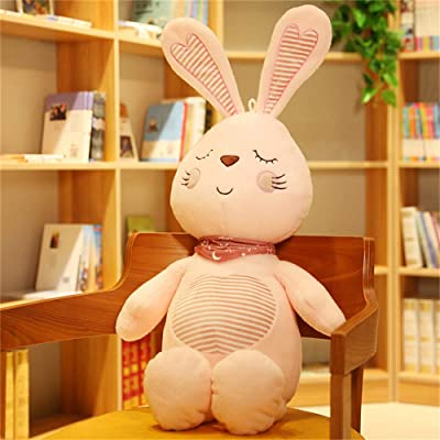 SXPC Plush Software Cartoon Cute Wearing Scarf Bunny Doll Children's Gift Plush Toys: Sports & Outdoors