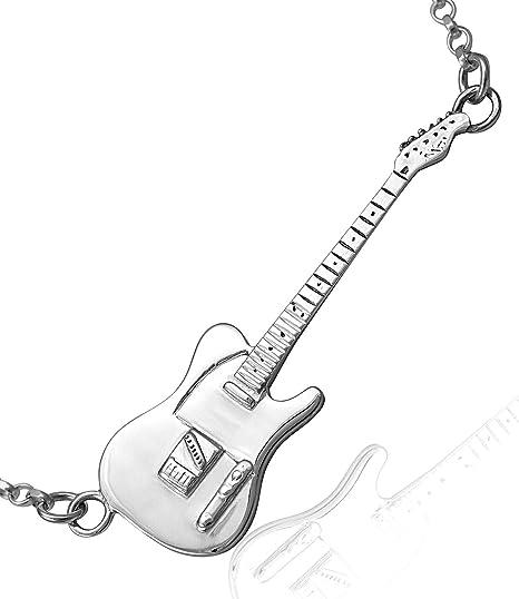 Large Sterling Silver Rick Parfitt Tribute Fender Telecaster