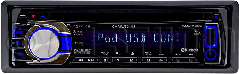 61XADSvaQaL._SL1000_ amazon com kenwood kdc x696 exelon in dash usb cd receiver with  at fashall.co