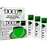DocoShield Cold Sore Prevention Lip Balm w/Docosanol and Lysine (3-Pack)