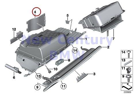 bmw genuine glove box fuse carrier cover 640i 640ix 650i 650ix alpina b6 m6  640i 640ix