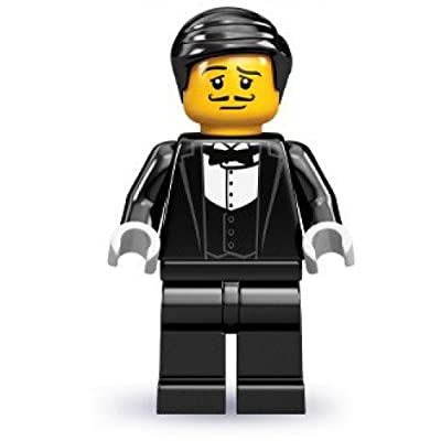 LEGO MINI-FIGURES - SERIES 9 - WAITER: Toys & Games