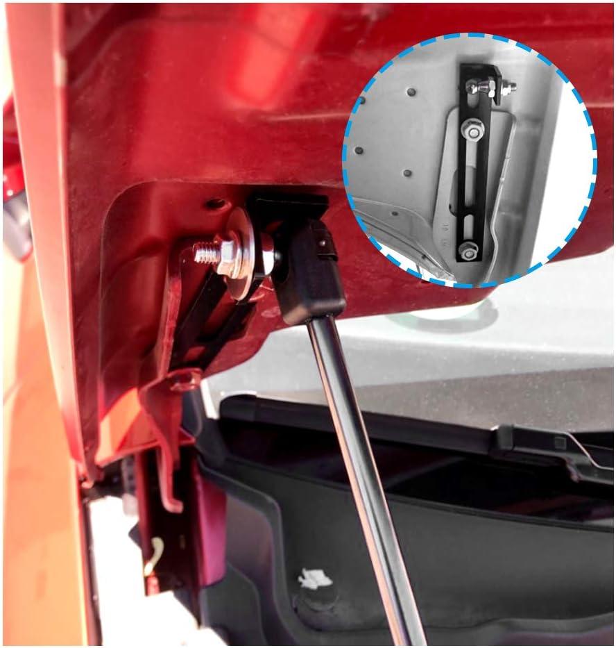LFOTPP Resorte de gas para cap/ó de Seat Leon MK3 5F color negro 2 unidades