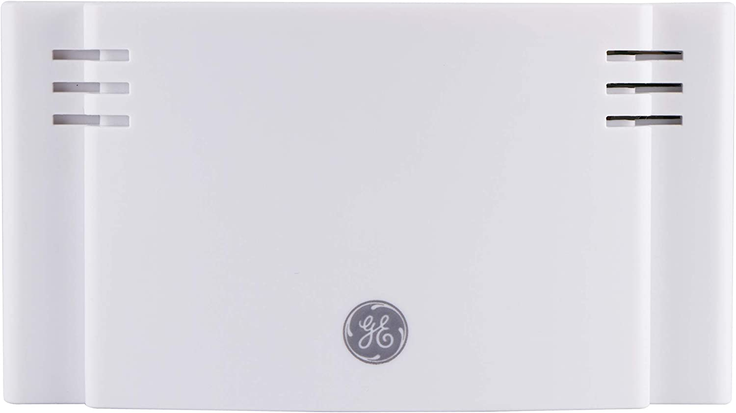 GE Wireless Doorbell Kit, 2 Melodies, 4 Volume Levels, 150 Ft. Range, Mountable, White, 35571, No Push Button, Battery-Operated Receiver