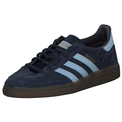 14154ec9c6 adidas Originals Handball Spezial Shoes 12.5 D(M) US Collegiate Navy/Clear  Sky