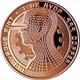 Guardian Bitcoin 1 Oz .999 Copper Commemorative Coin