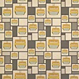 Retro Television Vintage Technology Kraft Present Gift Wrap Wrapping Paper