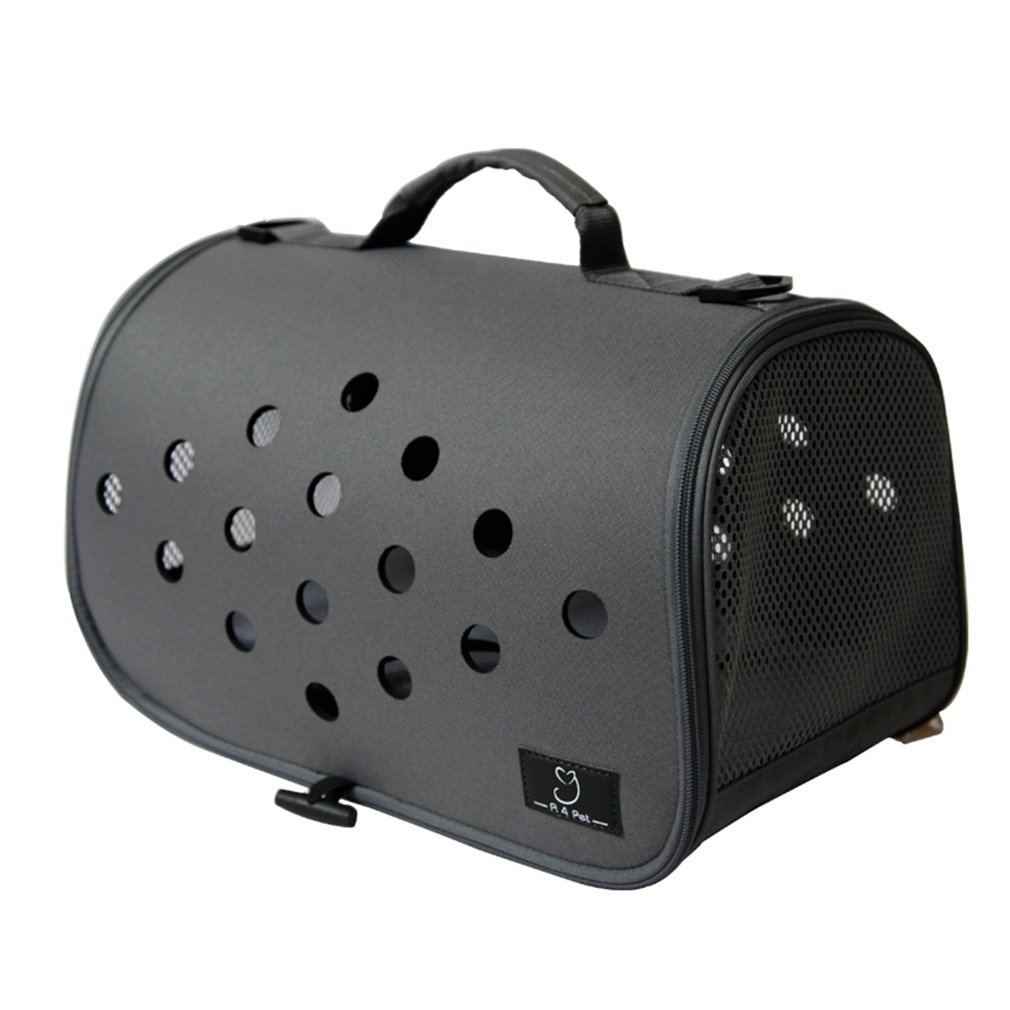 BLACK Pet Cat Pack Out Pet Backpack Small Dog Cat Kitty Cat Cage Portable Pet Bag (color   Black)
