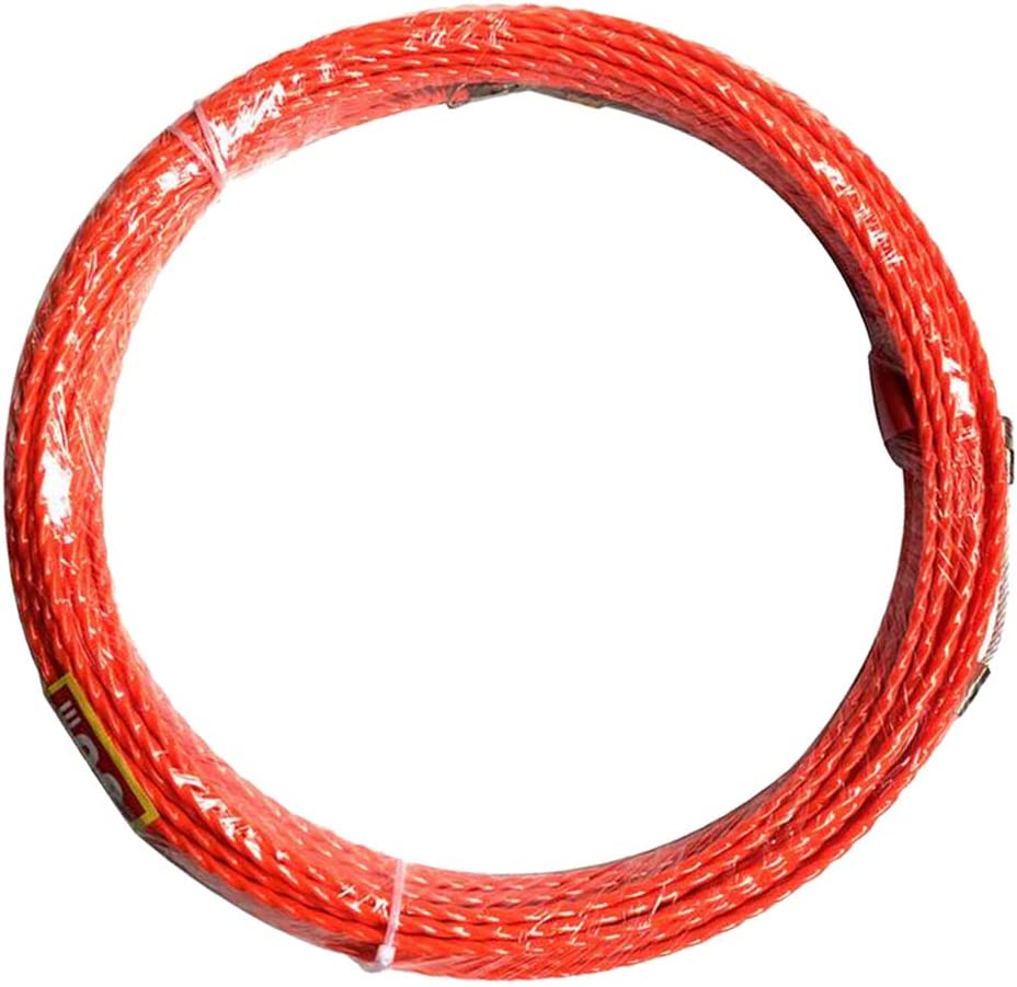Shiwaki Orange Nylon Tire Fil /Électricien 30M 4,5 mm Kit R/étractable d/'Installation pour C/âbles /Électriques