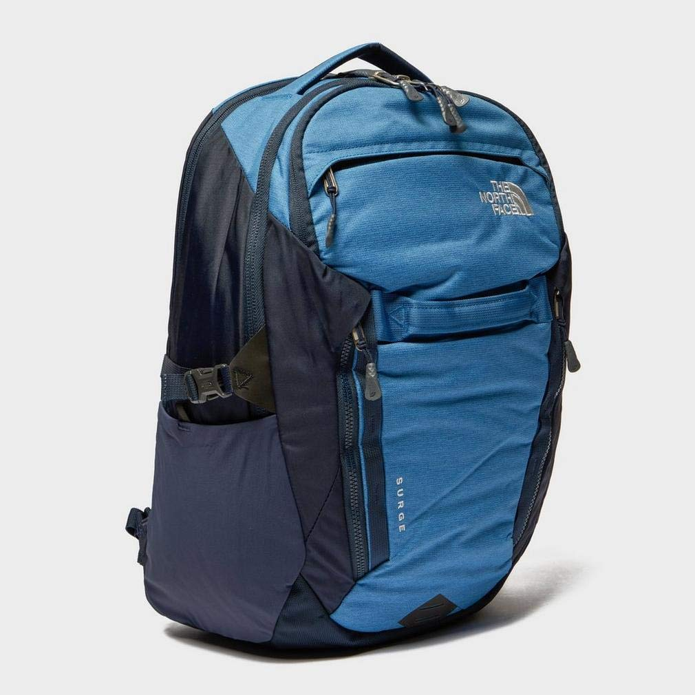 1f24acba56 Amazon.com: The North Face Surge Backpack Dish Blue Light Heather/Urban  Navy: Clothing