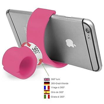 Soporte móvil coche soporte móvil moto soporte móvil bicicleta rosa ...