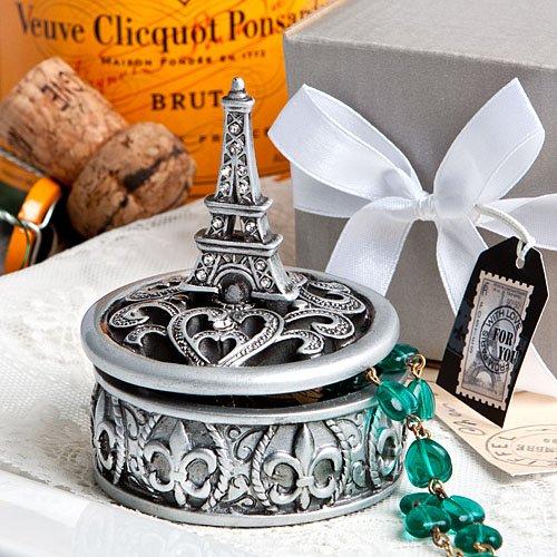 (Eiffel Tower design curio box favors [SET OF 48])