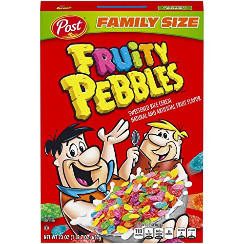 🥇 Post Fruity Pebbles Gluten Free Cereal