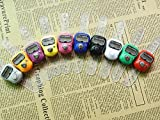 Worldoor® 5PS LCD Electronic Cute Digital Hand Ring Finger Tally Counters Multi-Color