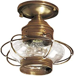 product image for Brass Traditions 633-DAC Small Flush Mount Onion Lantern, Dark Antique Copper Finish Flush Mount Onion Lantern