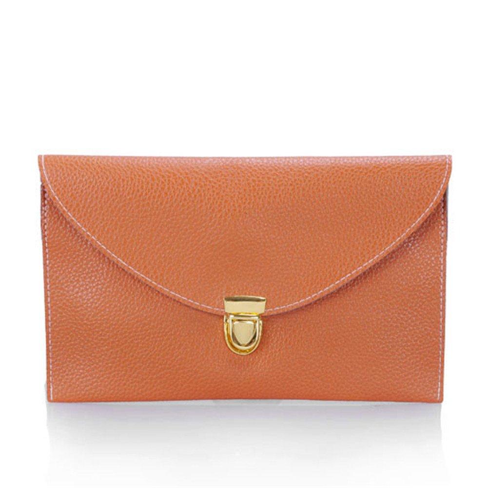 PiercingJ Womens Envelope Clutch Chain Purse Lady Handbag Tote Shoulder Hand Bag.