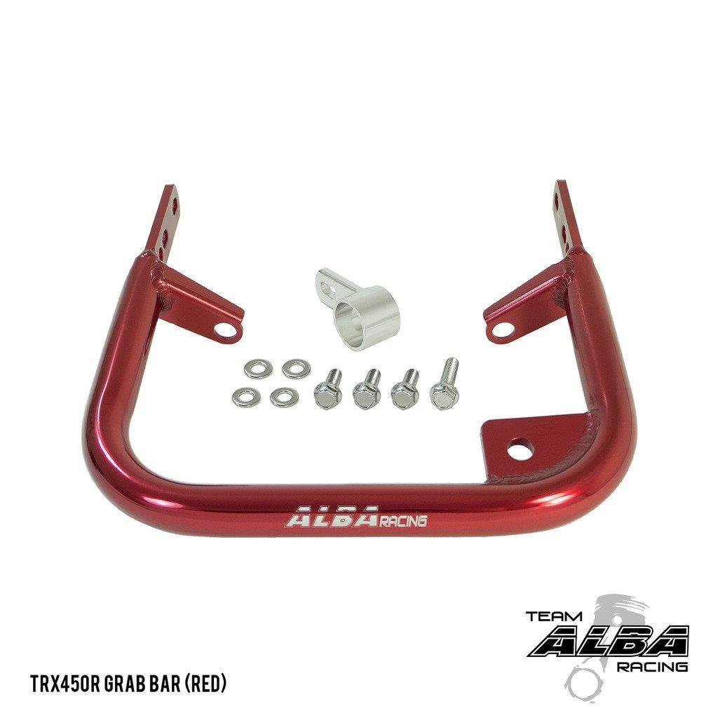 Honda TRX 450R (2004-2009/2012-2014) ATV Rear Grab Bar Bumper Red