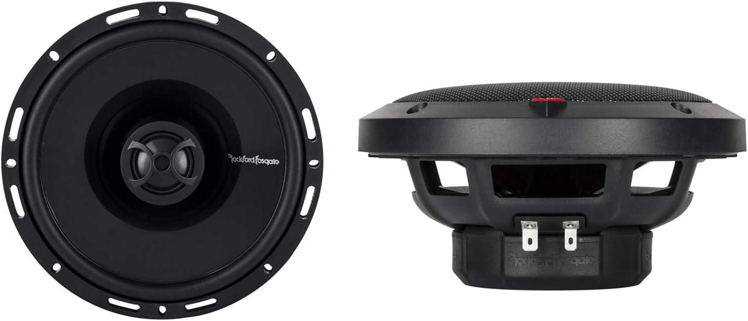 4 New Rockford Fosgate P1650 6.5 2-Way Full Range Car Audio Coaxial Speakers