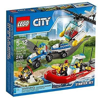 LEGO CITY City Starter Set Kids Building Playset - 242 Piece | 60086: Toys & Games
