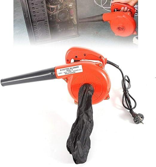 Colector de polvo eléctrico Aspirador Soplador de aire Soplador de hojas lavable Limpiador de polvo Aspirador de mano 13000r / min 220V 700W: Amazon.es: Jardín