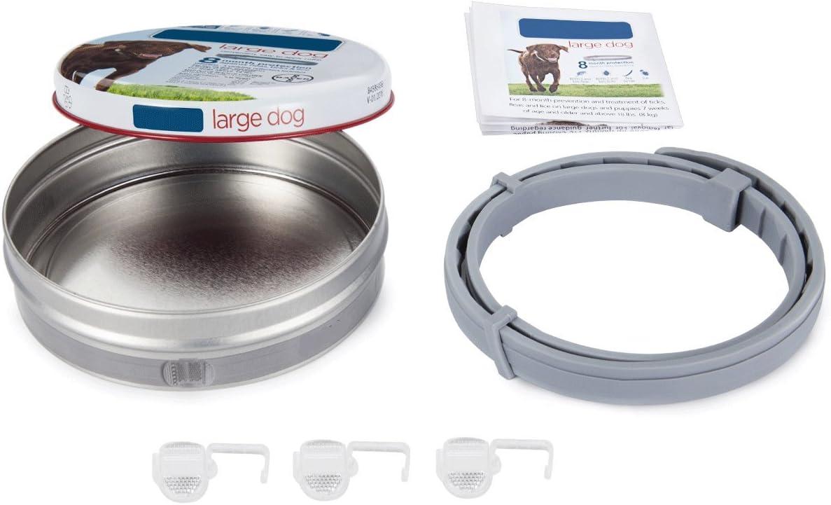OutStyle Seresto - Collar antiparasitario para Perros Grandes (más de 8 kg, Polvos antipulgas y garrapatas, 70 cm)