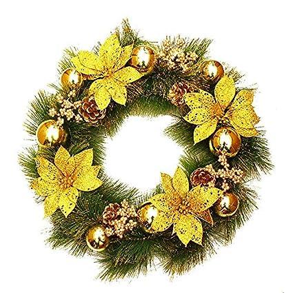 Amazon Com Qiandong1 Christmas Wreath Christmas Handicrafts Hotel