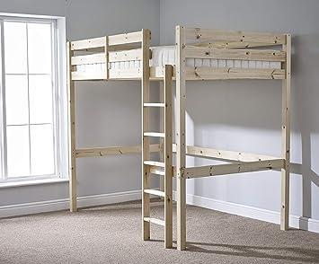 Etagenbett Skandinavisch : Amazon loft etagenbett ft small double holz hochbett