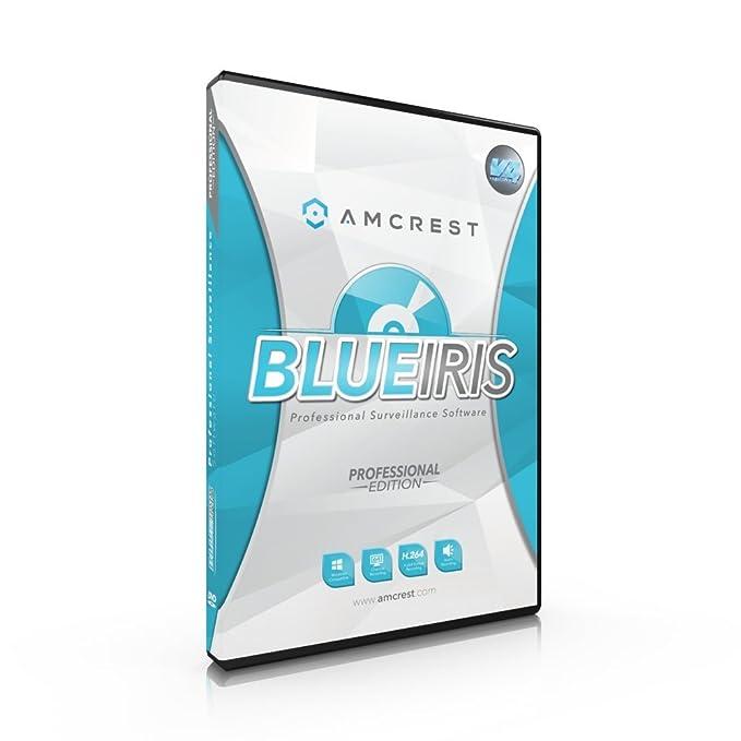 Amazon com : Amcrest Blue Iris Professional Version 4 - Supports