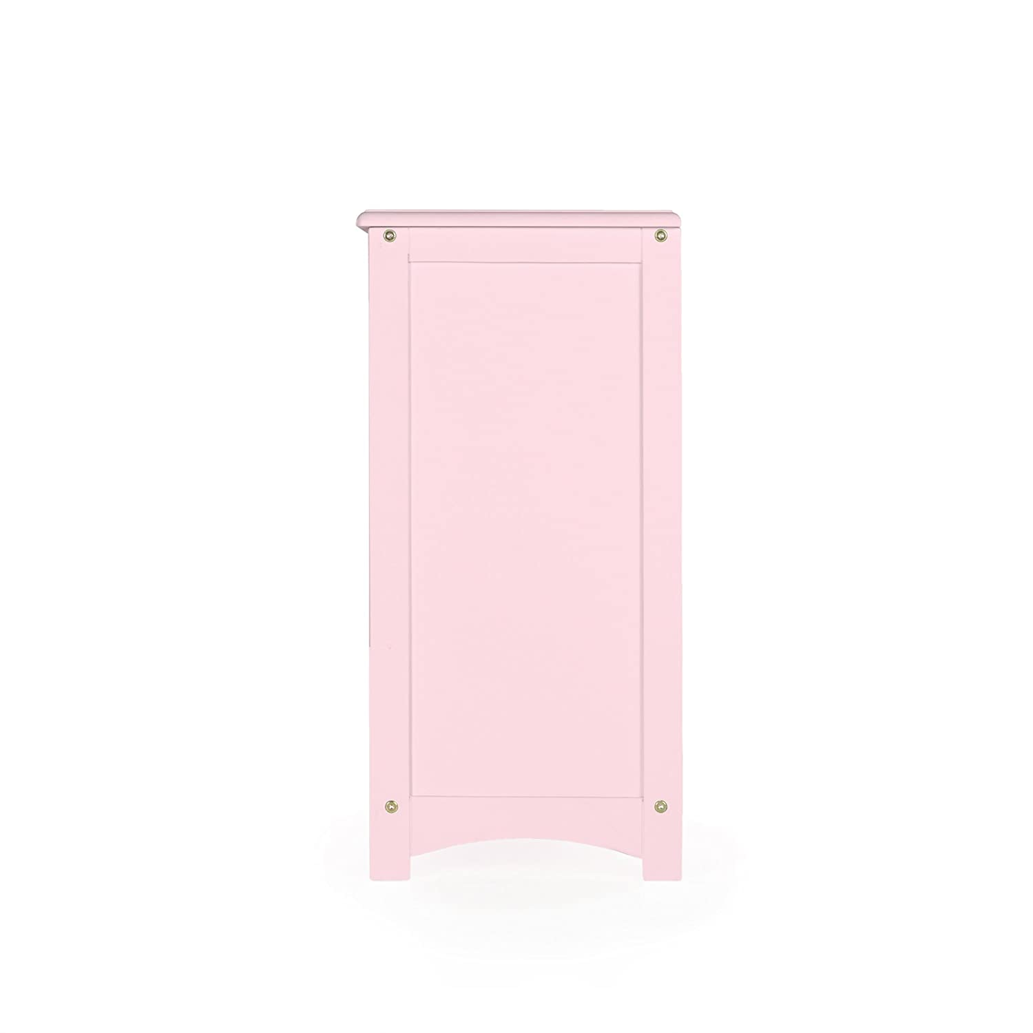 Amazoncom Guidecraft Classic Bookshelf  Pink Classroom Book Rack Storage