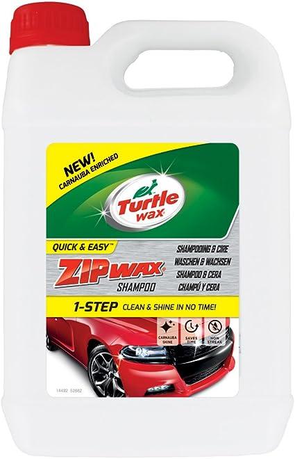 Turtle Wax 52882 Zip Wax Konzentriertes Autoshampoo Und Waschen 2 5l Auto