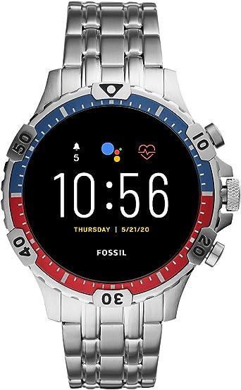 Fossil Gen 5 Smartwatch Garrett HR Caja y Correa de Acero ...
