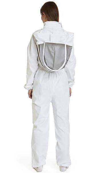Traje de Apicultura, algodón, Blanco, niño: Amazon.es: Hogar