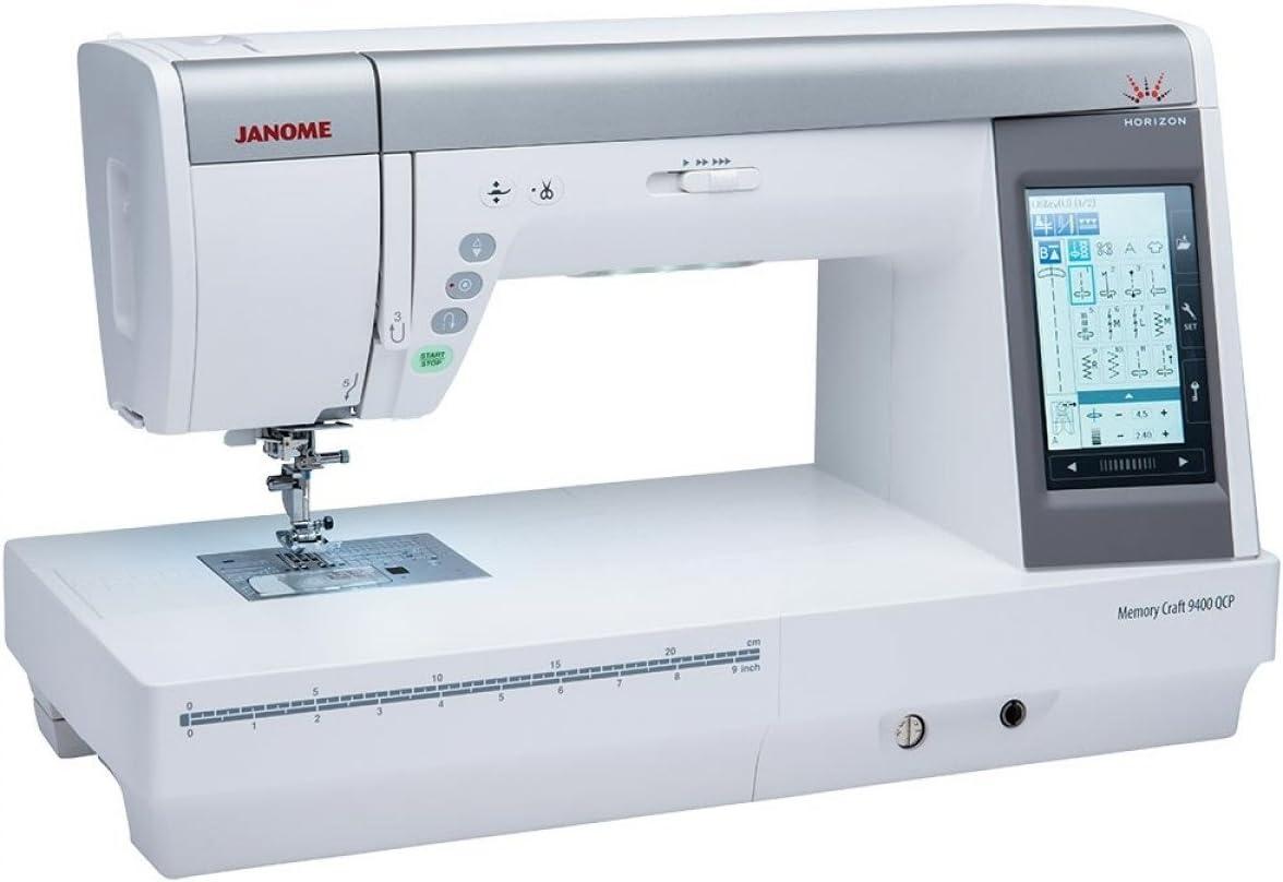 Janome Horizon Memory Craft 9400QCP Máquina de coser