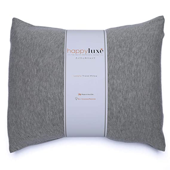 Eco-friendly travel pillow