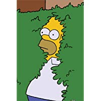 The Simpsons Póster 'Homer Bush, 61 x 91,5