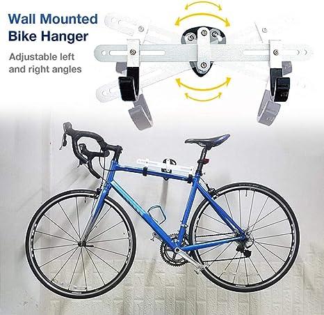 Gancho Vertical para Colgar en la Pared de la Bicicleta para Montar en el Garaje Ronshin