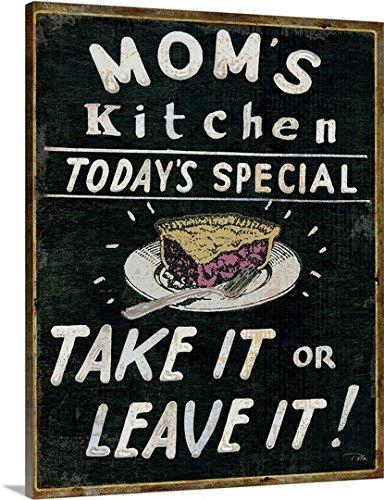 Canvas on Demand Premium - Canvas Wall Art Print Mom's Kitchen