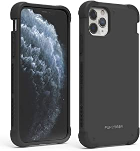 PureGear DualTek Case for Apple iPhone 11 Pro Max, Snap On Case with Extreme Shock Protection, Durable, Lightweight, Heavy Duty Protective Phone Case (Black)