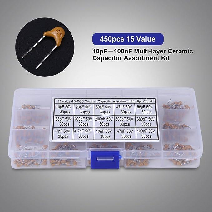 Lotto di 10 pezzi x Condensatore ceramico 2,7pF 100V 2p7 100 V