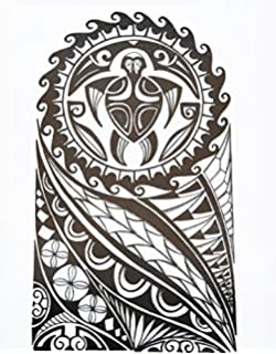 Tatuaje Tribal Para Brazo De Hombre Negro Hb853 Estilo Maori