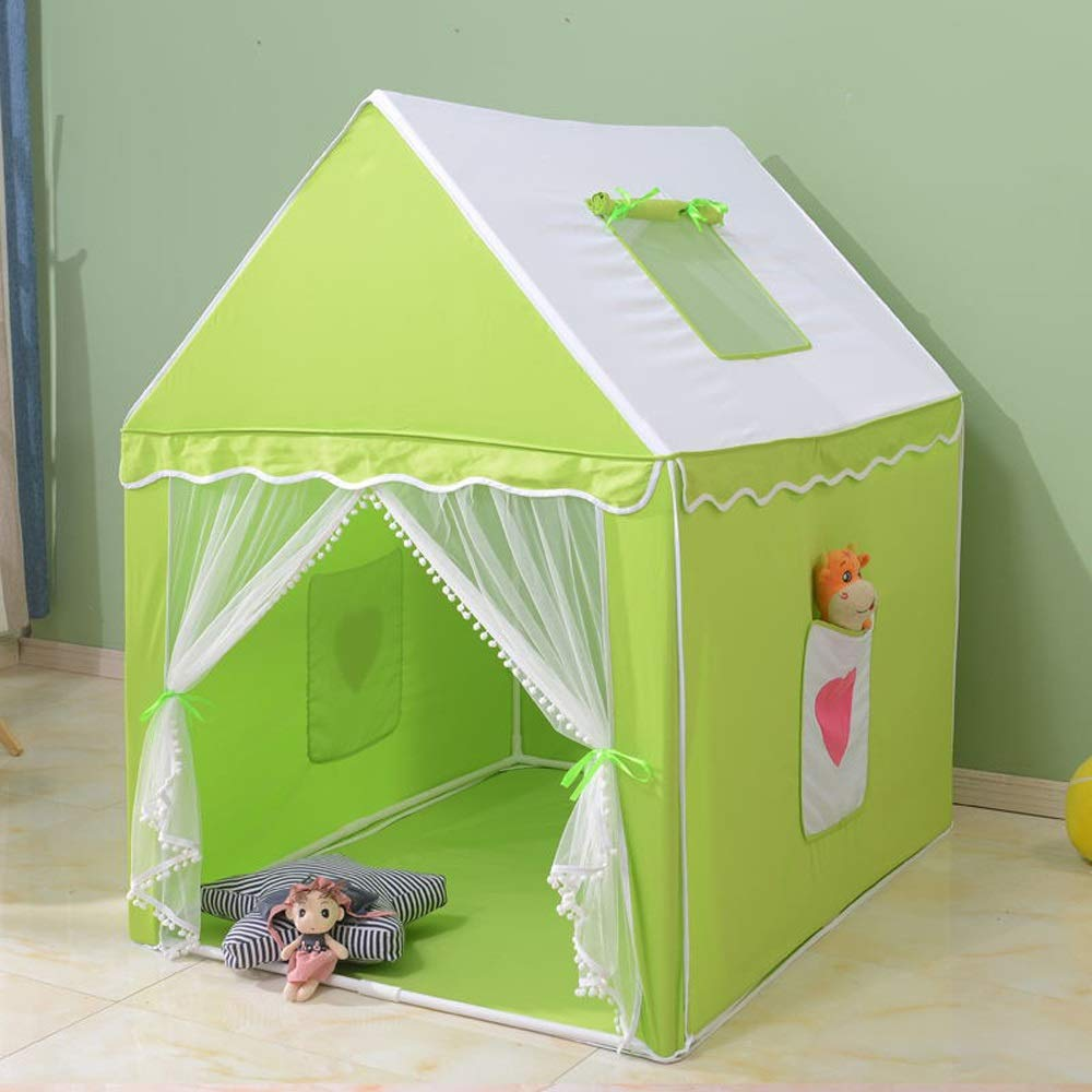 Mogicry グリーン 装飾 子供用 屋内 ベビー テント ゲームルーム 家庭用 お城 コットンファイバー ステント 装飾 ティピー子供部屋 ベビー スプリットベッド アーティファクト 子供用 プレイテント 屋内 屋外 1+ B07NPJ3HW5, よかねっとはかた:4f69c03c --- forums.joybit.com