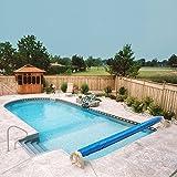 Aqua Splash In Ground Swimming Pool Solar Cover