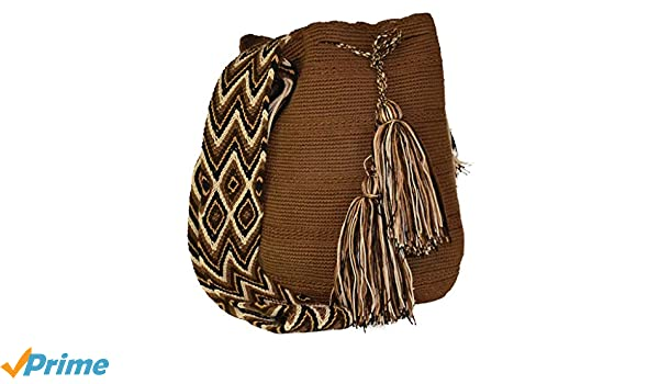 Amazon.com: New & Authentic Wayuu Mochila Bag, Ethnic, Crochet, Hand-made, from Colombia: Clothing