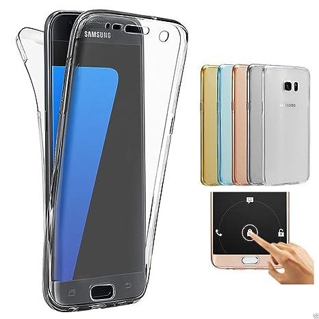 ec3e708fa63 Samsung Galaxy A3 2015 Funda, 2ndSpring 360 Grados Doble Delantera +  Trasera De Gel Integral