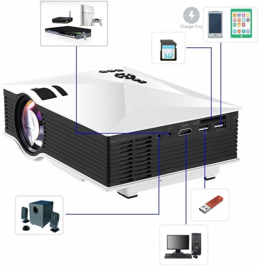 Mengshen® WiFi HD Proyector Portátil Mini LED Projector Digital ...