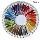 Shilpi Quilling Paper 1750 Strips Set - 10mm, 35 Colors, 35 packs